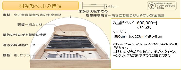 桐温熱ベッド