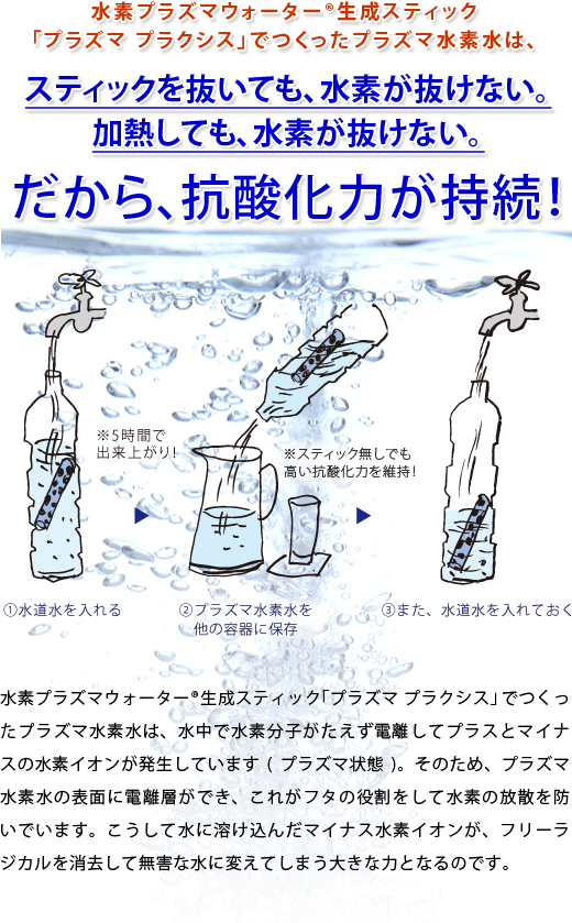 水素プラズマウォーター